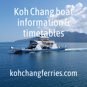 Boat timetables and information for Koh Chang